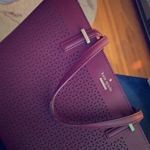 Kate Spade New York burgundy purse